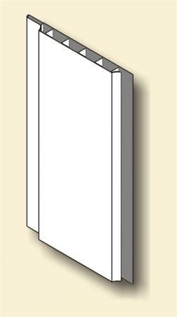 Fehér műanyag lambéria, Unidecor