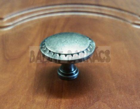 Antik fém gomb 1133