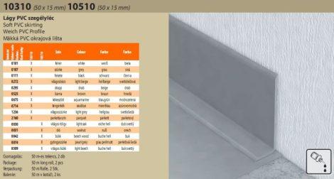 Lágy PVC-szegély 42221