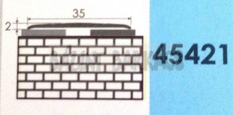 Fém burkolatváltó 35mm, öntapadós 45421