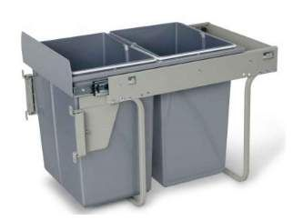 Kihúzható hulladékgyűjtő 45cm 2×20