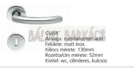 Kilincs CUBA