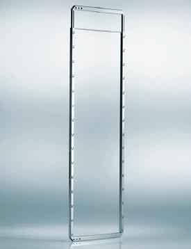 Fékes kamraszekrény, állítható keret