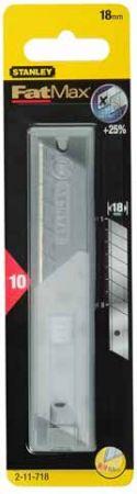 FatMax tördelhető penge 18mm 10db 11-718